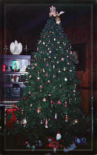 large Christmas tree