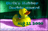 duckie award